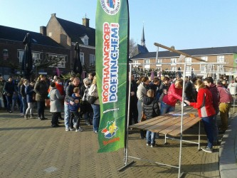 Scouts zie je overal!