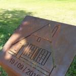 Monument ter nagedachtenis aan de boerderij